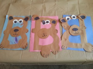 """B"" is for Bear Craft for Bear Week"